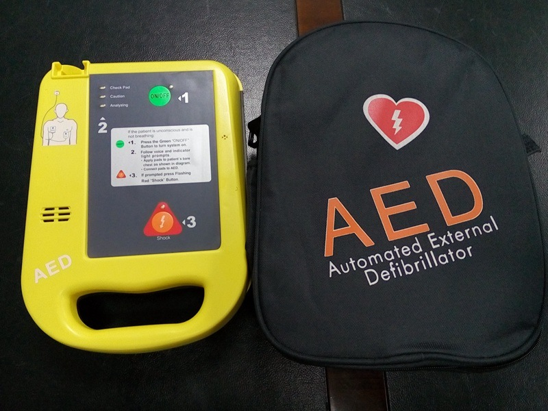 Medical Equipment Supply Portable Automated External Defibrillator with ECG
