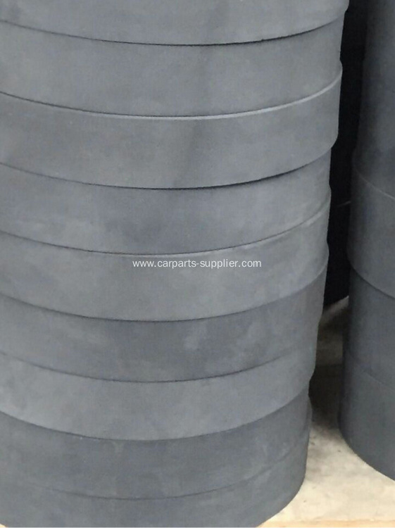 Soft Non Asbestos Rubber Brake Lining Roll
