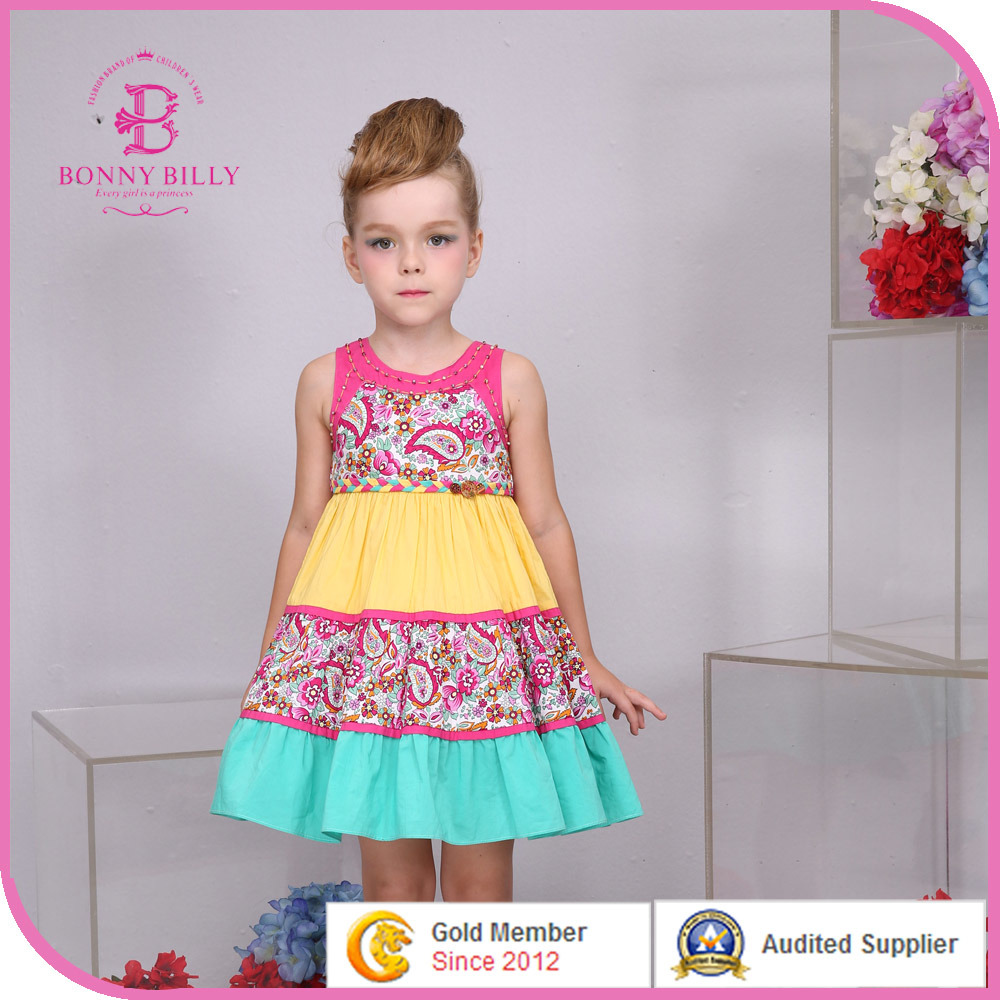 China America Style Girl Dress 2015 Fashion New Summer Collection China Girl Dress America