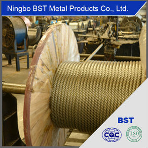 Galvanized Steel Wire Rope for Commercial Fishing (3-40mm)