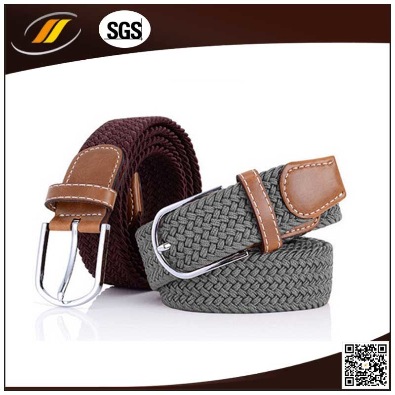 New Fashion Ployester Elastic Braided Belts for Ladies (HJ0176)