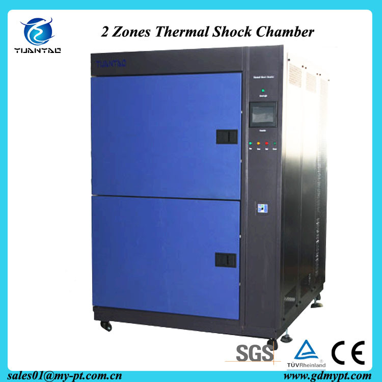 Two Years Warranty Two Zones Thermal Shock Impact Chamber