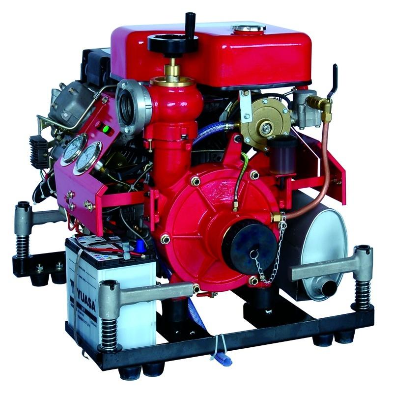 Ce Certificated 25HP Diesel Fire Fighting Pump