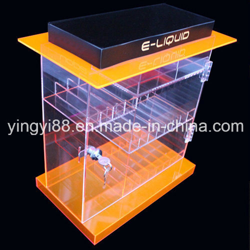 Deluxe Acrylic Locking E-Juice Display Cabinet