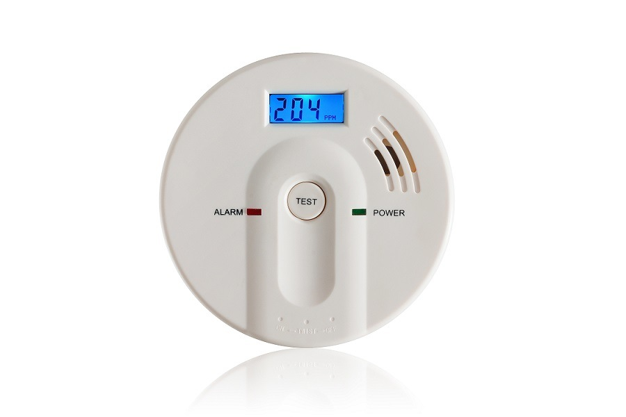 China 9V LCD Carbon Monoxide Alarm for Home