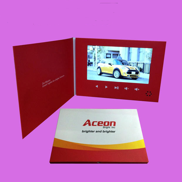 7inch LCD Screen Video Player for Promotion