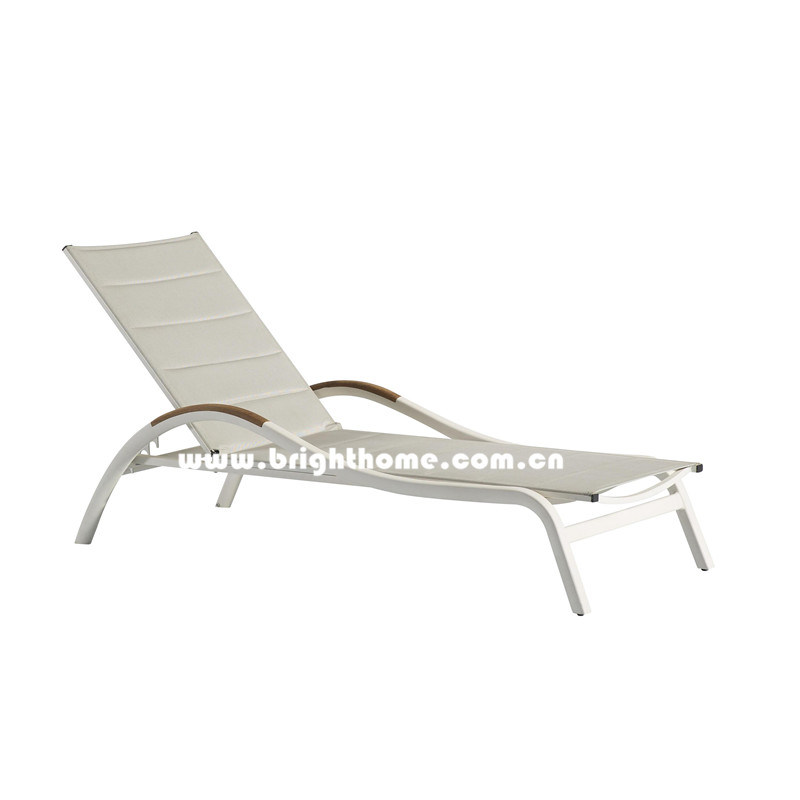 Best Sell Textilene Outdoor Sun Lounger