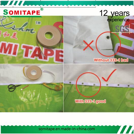 Somitape Sh335-1 Banner Strengthen Tape for PVC Flex Banner/Flex Banner