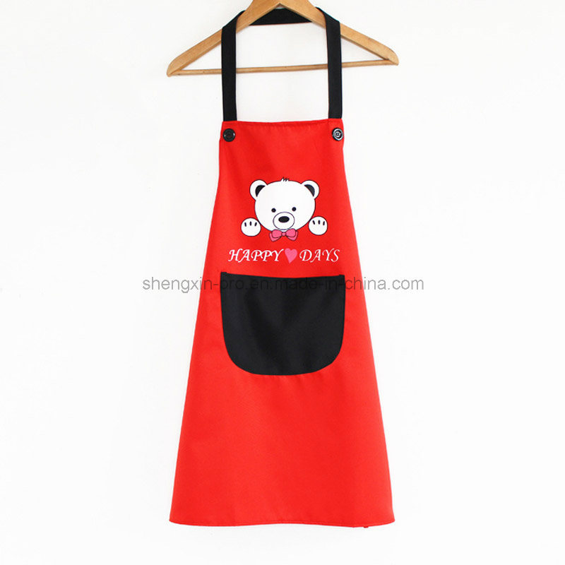 100% Canvas Apron with Logo Printing for Promotion