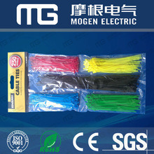 Self-Locking Nylon White Cable Ties
