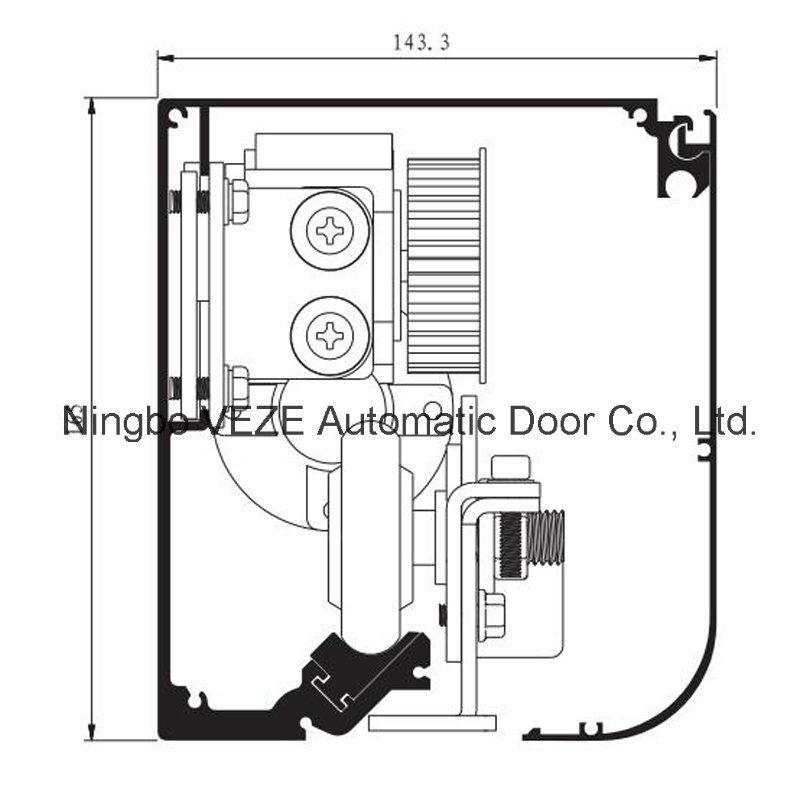 ICU Medical Automatic Hermetic Sliding Door
