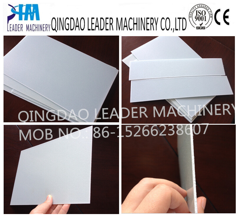 Plastic PP PE Foam Board Panel Foamed Plate Sheet Extrusion Production Line