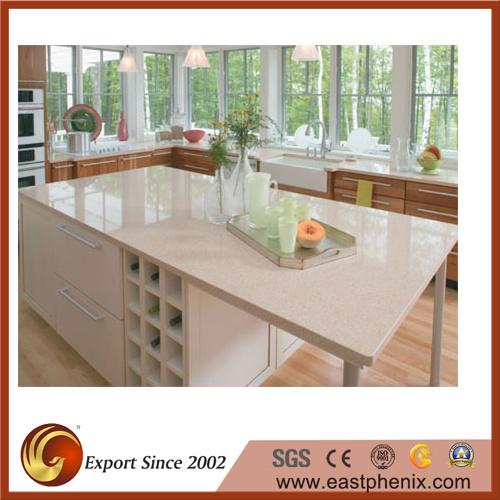 White Quartz Stone Kitchen/Bathroom Countertop