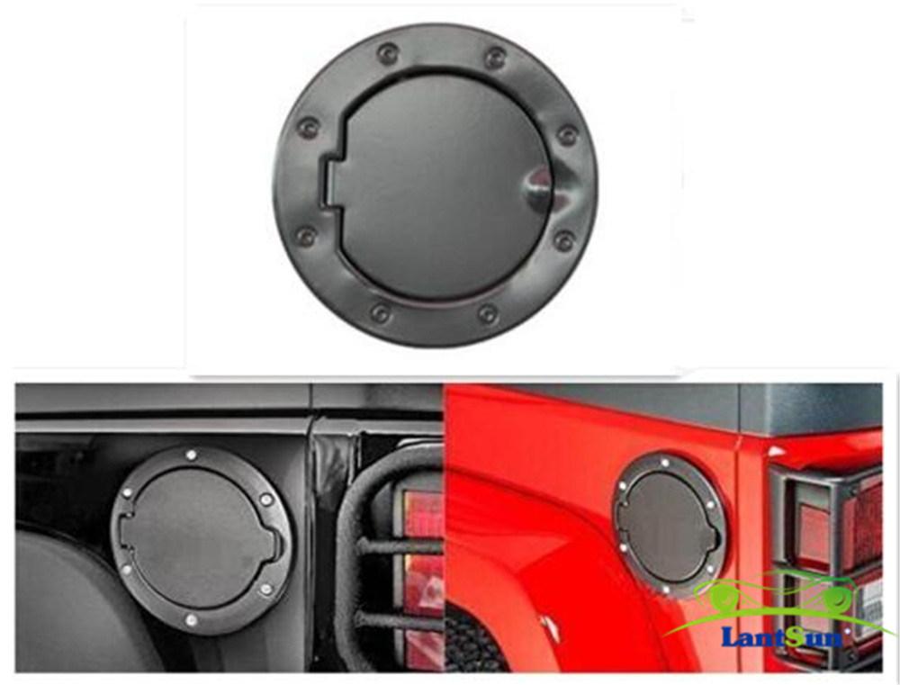 Jeep Jk Wrangler Fuel Tank Gas Cover Door Auto Parts
