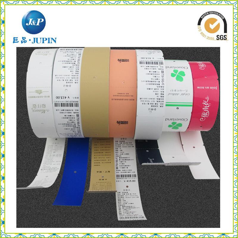 Free Sample Hang Tag Labels Clothing (JP-HT055)