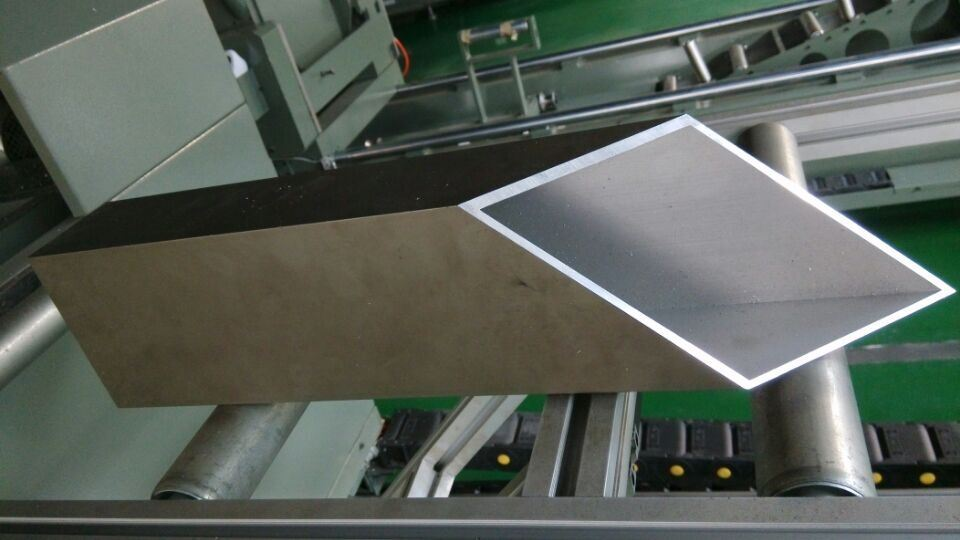 Kt-383f/Dg CNC Curtain Wall Profile Double Head Cutting Machine (for cutting compound angle)