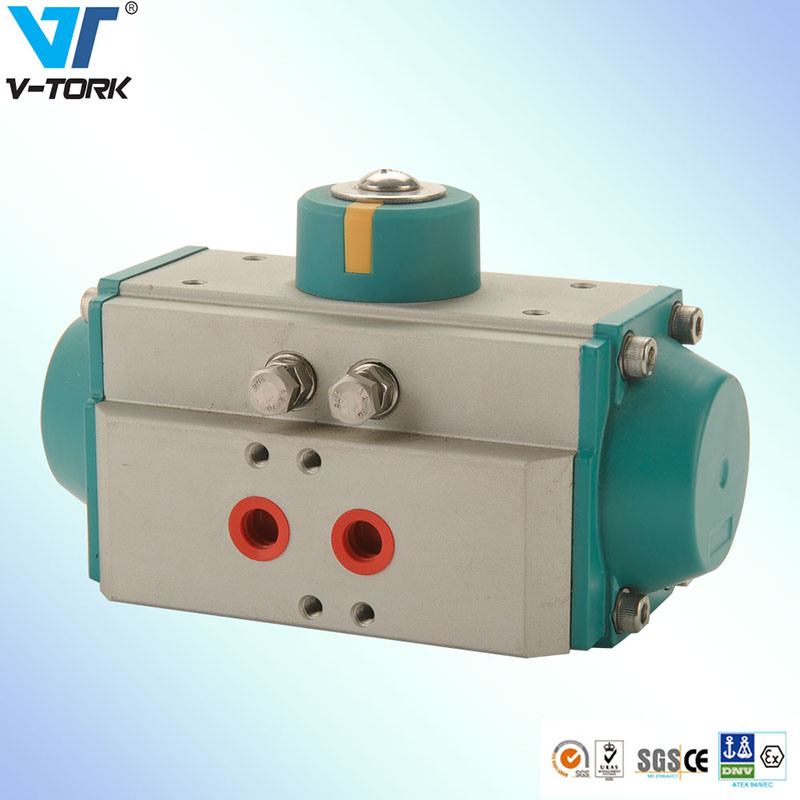 Spring Return Pneumatic Valve Actuator with Factory Price