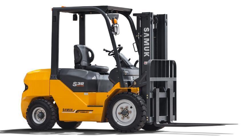 3.5ton Samuk Forklift Diesel Mitsubishi Engine