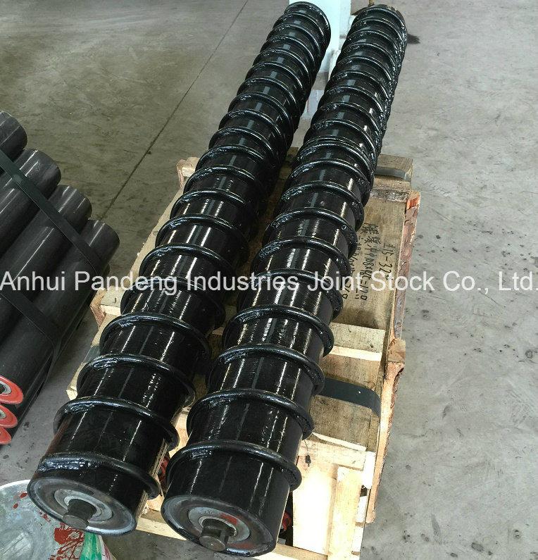 Spiral Roller/Steel Screw Idler/Carrying Roller