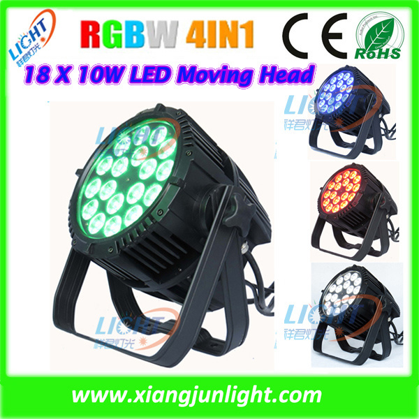 18X10W LED PAR Can Light Wash for Disco Lighting