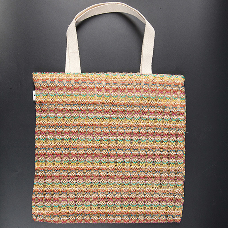Fashion Style Organic Cotton Bag, Recyclable Shopping Cotton Bag
