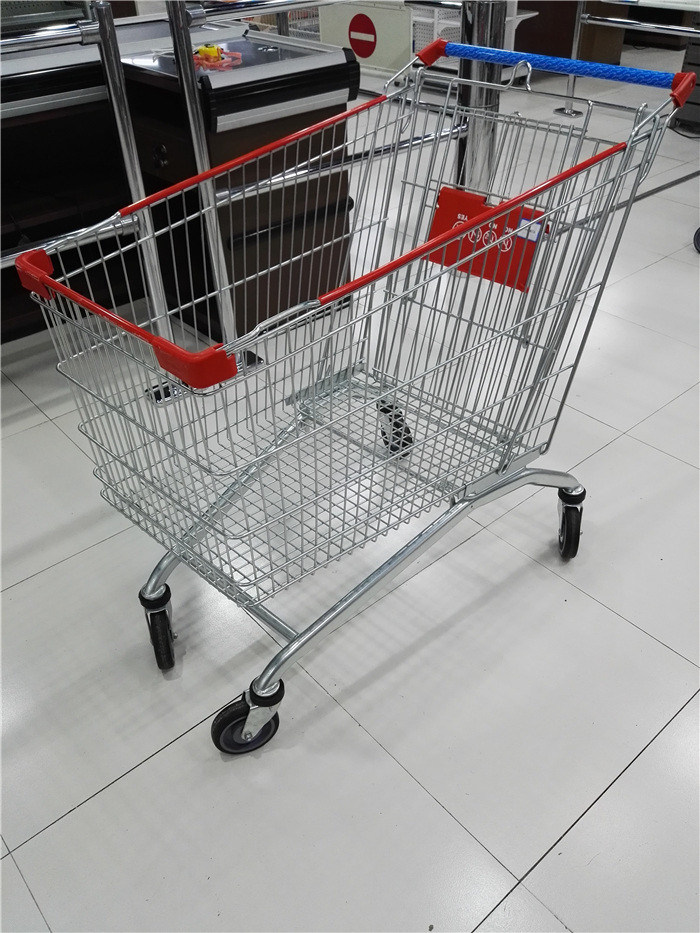 High Quality Popular European Style Shopping Trolley Cart