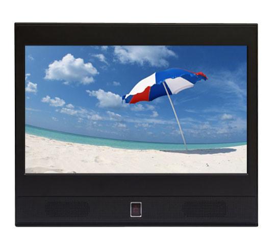 13 Inch Portable Solar HD LCD Car Truck TV