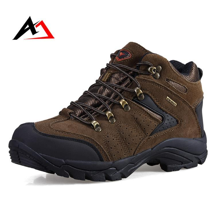 Trekking Shoes Outdoor Sports Non-Slip for Men Hiking (AK8916)