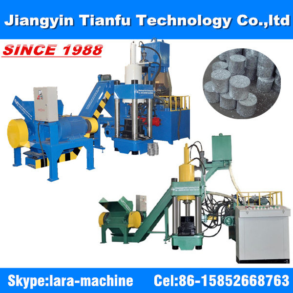 Y83 Vertical Automatic Scrap Aluminum Chips Recycling Machine