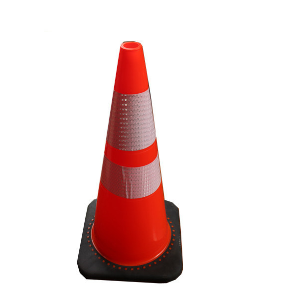 Ce Certificate Flexible Durable Anti UV 28′′pvc Traffic Road Safety Cone