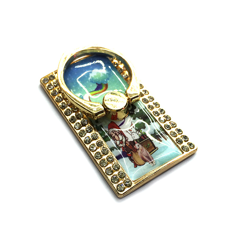 Crystal Christmas Pattern Cell/Mobile Phone Ring Holder