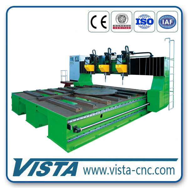 CNC Plate Drill Lathe Bed