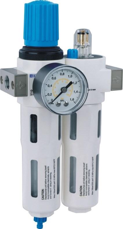 Pneumatic Air Preparation Frl (F+R+L) , Air Source Treatment Unit