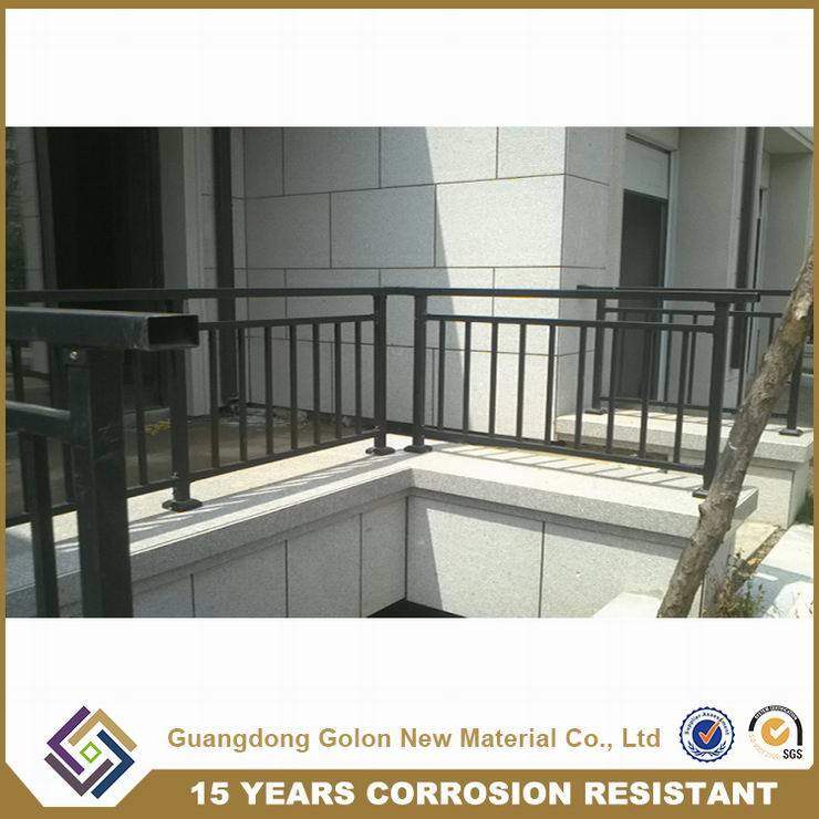 Exterior Ornamental Curve Balcony Railings
