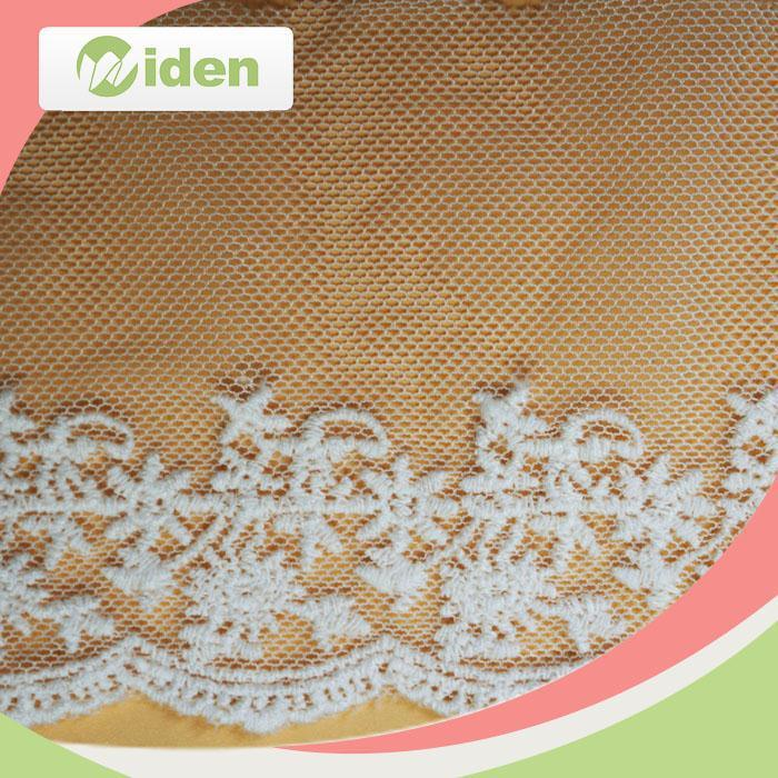 Accessories Oeko Certification Net Embroidery Lace Swiss Voile Lace