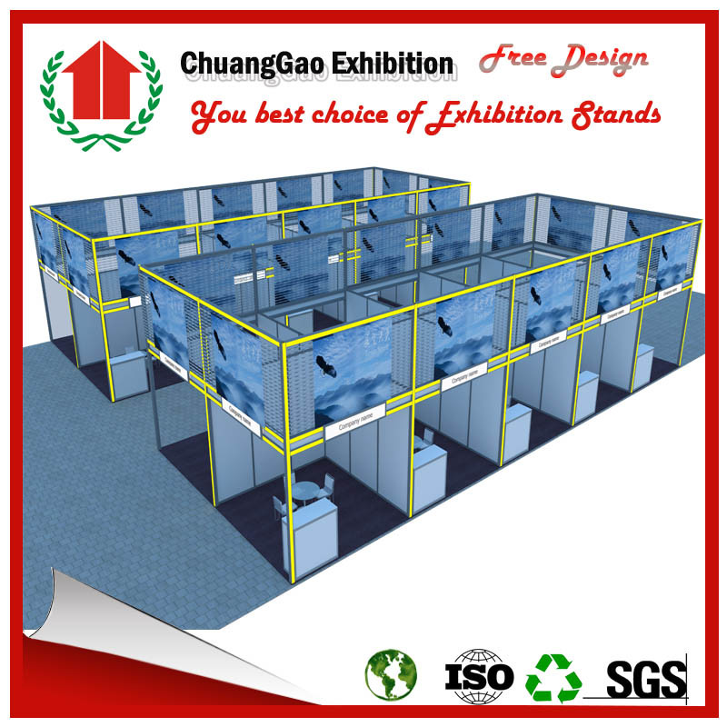 Customized Octanorm System Exhibition Booth