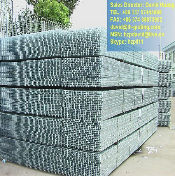 Galvanized Open Metal Floor for Grating Platform and Drain Cover
