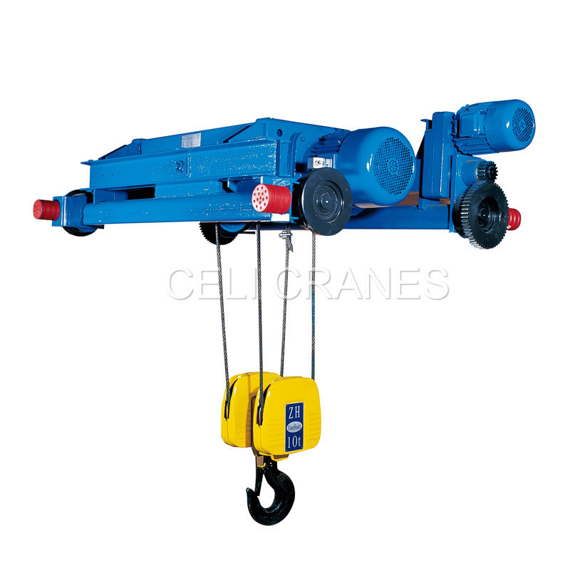 Zhs Wire Rope Hoist 4/2 Falls