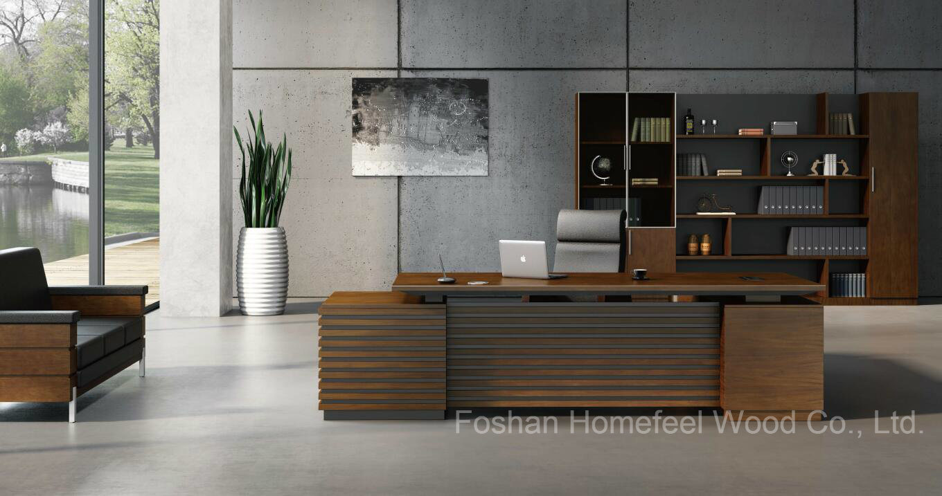 China new design office wooden executive table with side for Incredible modern office table product catalog china