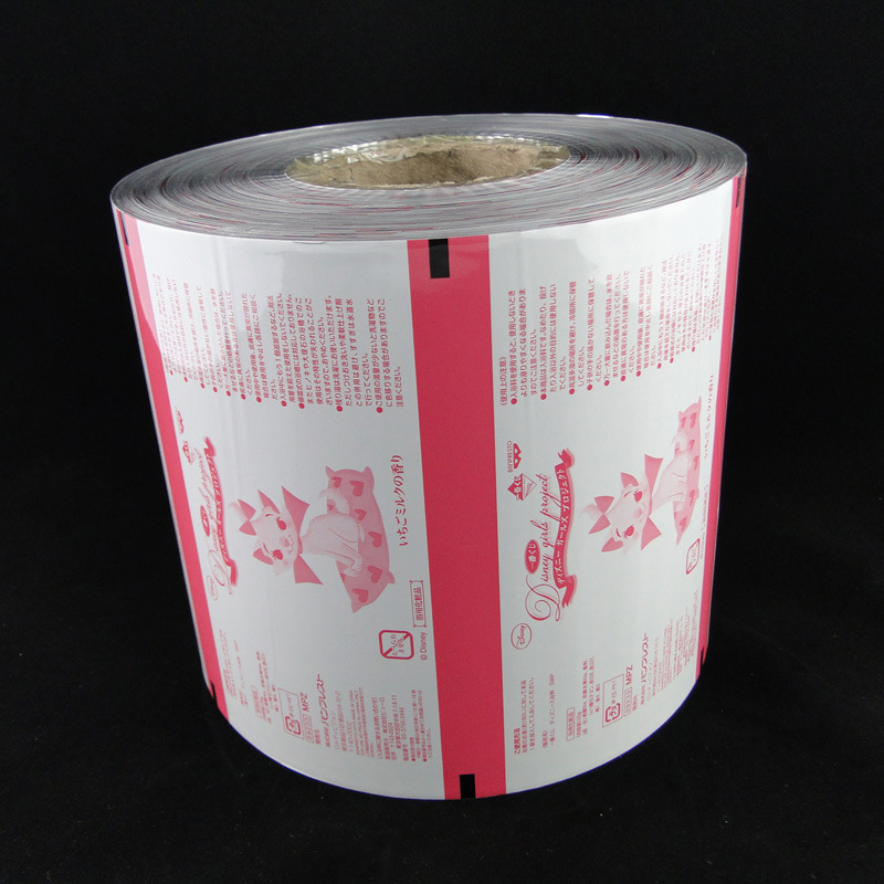 Popcorn Candy Packaging Plastic Food Bag Roll Film