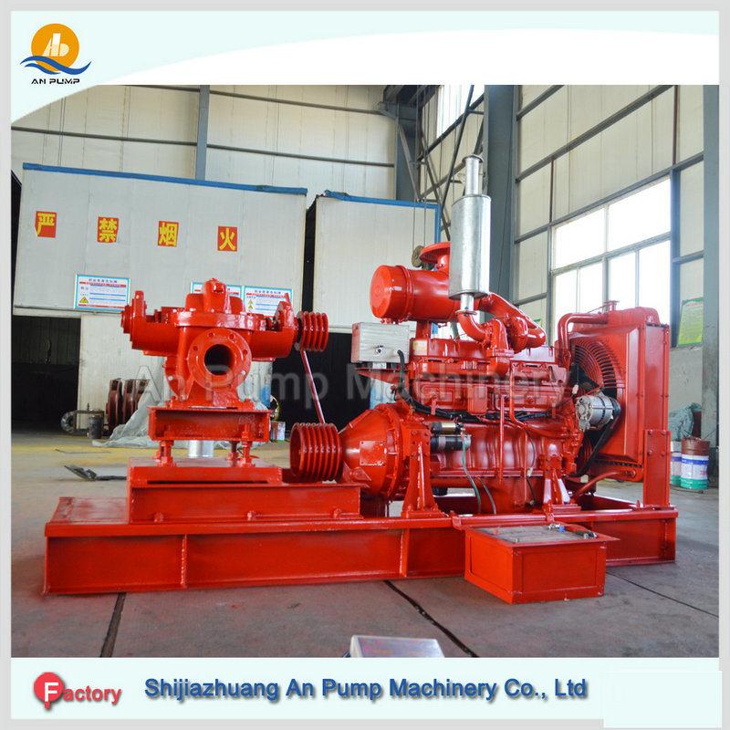 High Pressure Centrifugal Diesel Engine Driven Fire Pump
