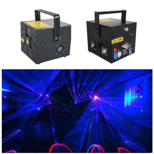 RGB Star Laser Projector for DJ Disco Club (GA-F-RGB1140)