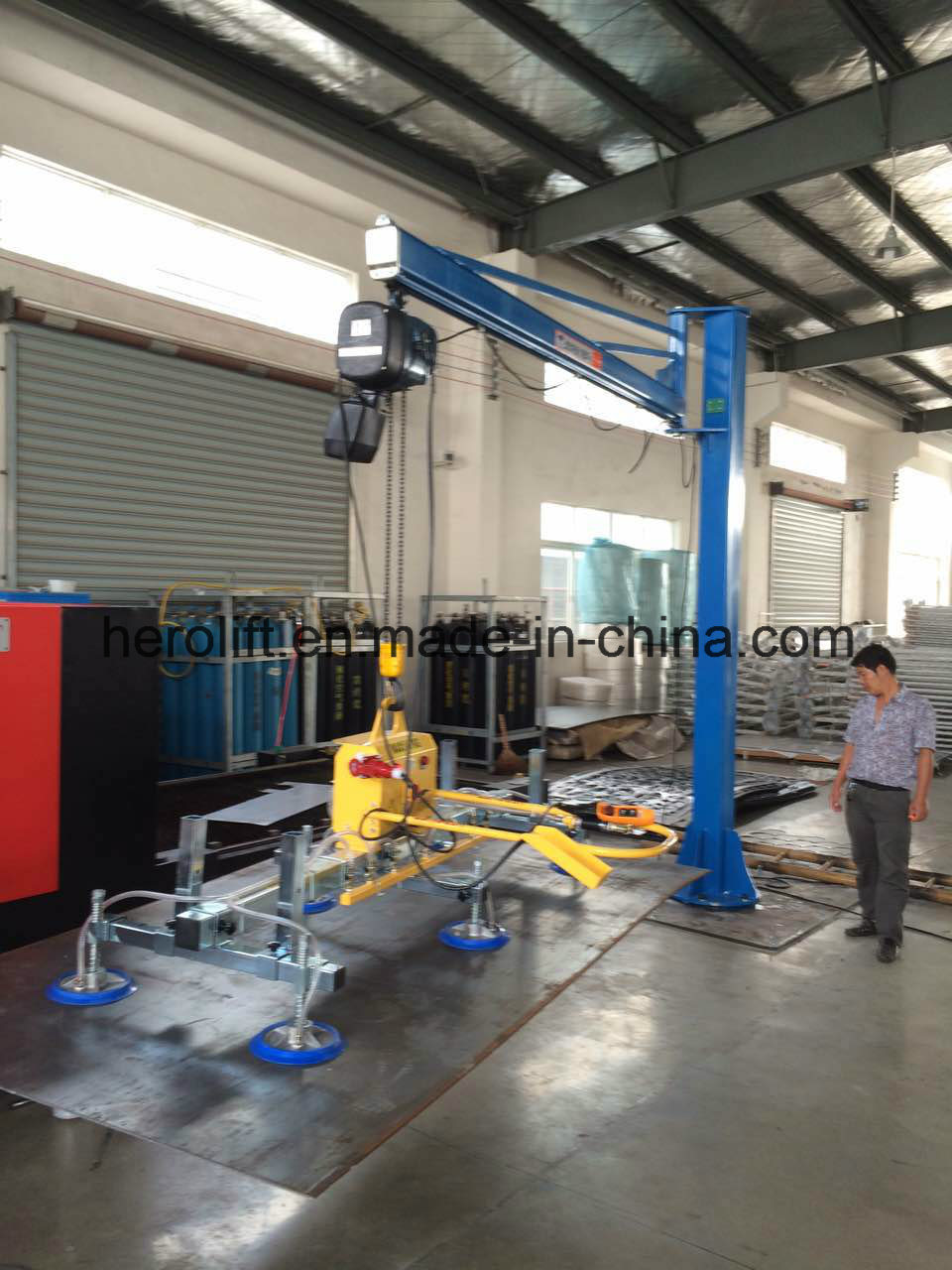 Stailess Steel Sheet Vacuum Lifter/Ss Sheet Lifter