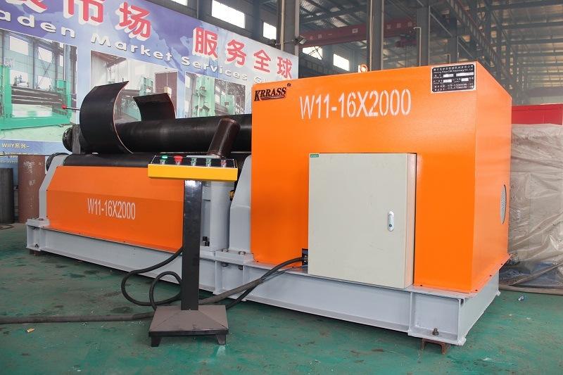 Siemens Motor W11 3 Roll Rolling Machine with Ce