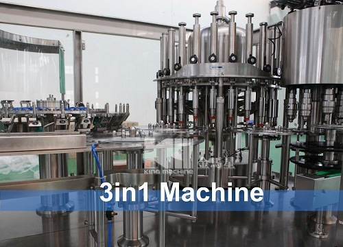 Drinking Water Washing Filling Capping Machine Production Line Equipment