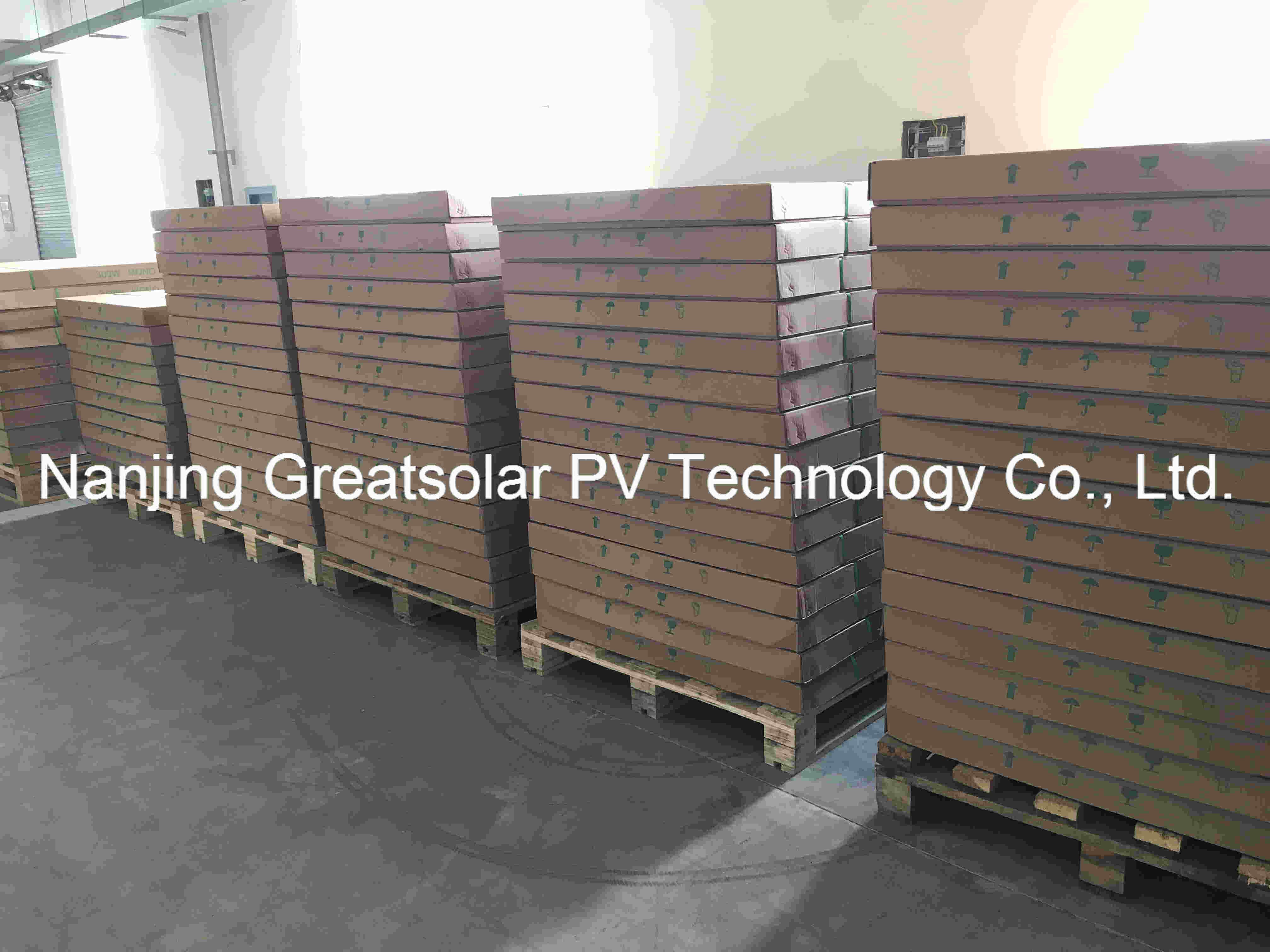 High Efficiency Mono Solar Panel 300W-345W