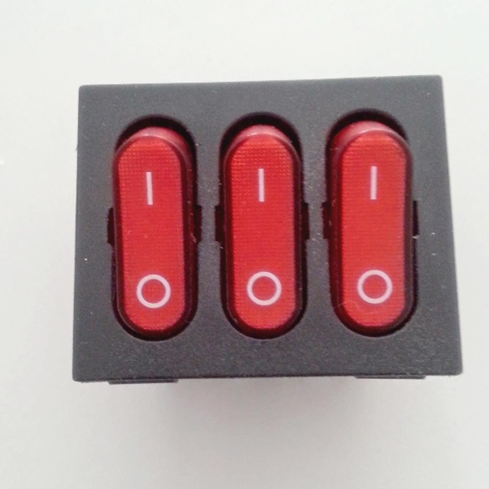 Fan Boat Rocker /Power Switch Push Button with CE for Heater for Fan