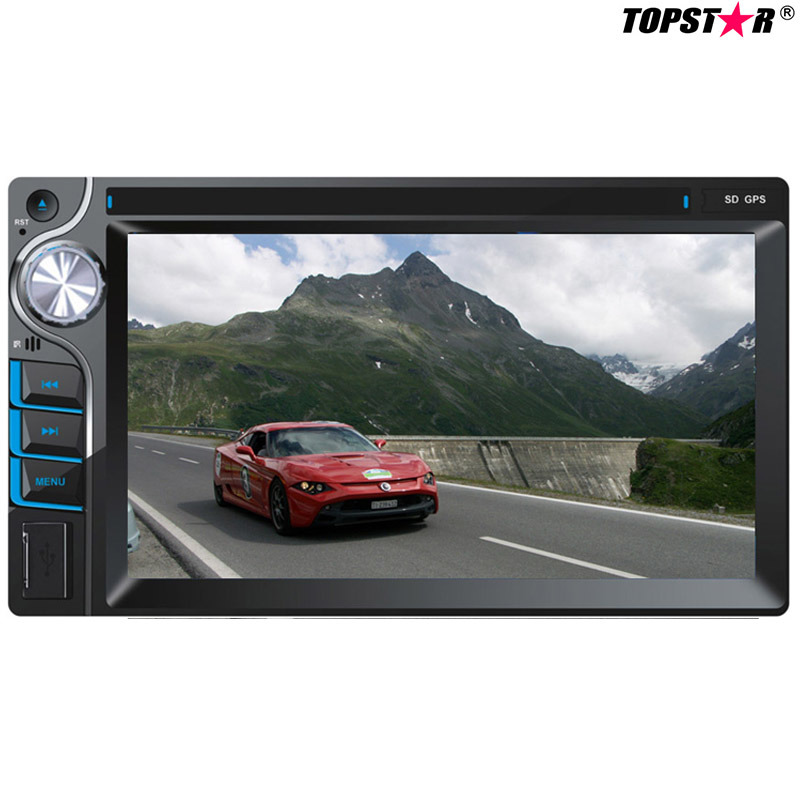 6.2inch Double DIN 2DIN Car DVD Player with Wince System Ts-2025-2