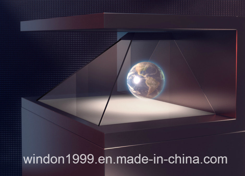China 3d hologram showcase holographic pyramid box photos amp pictures