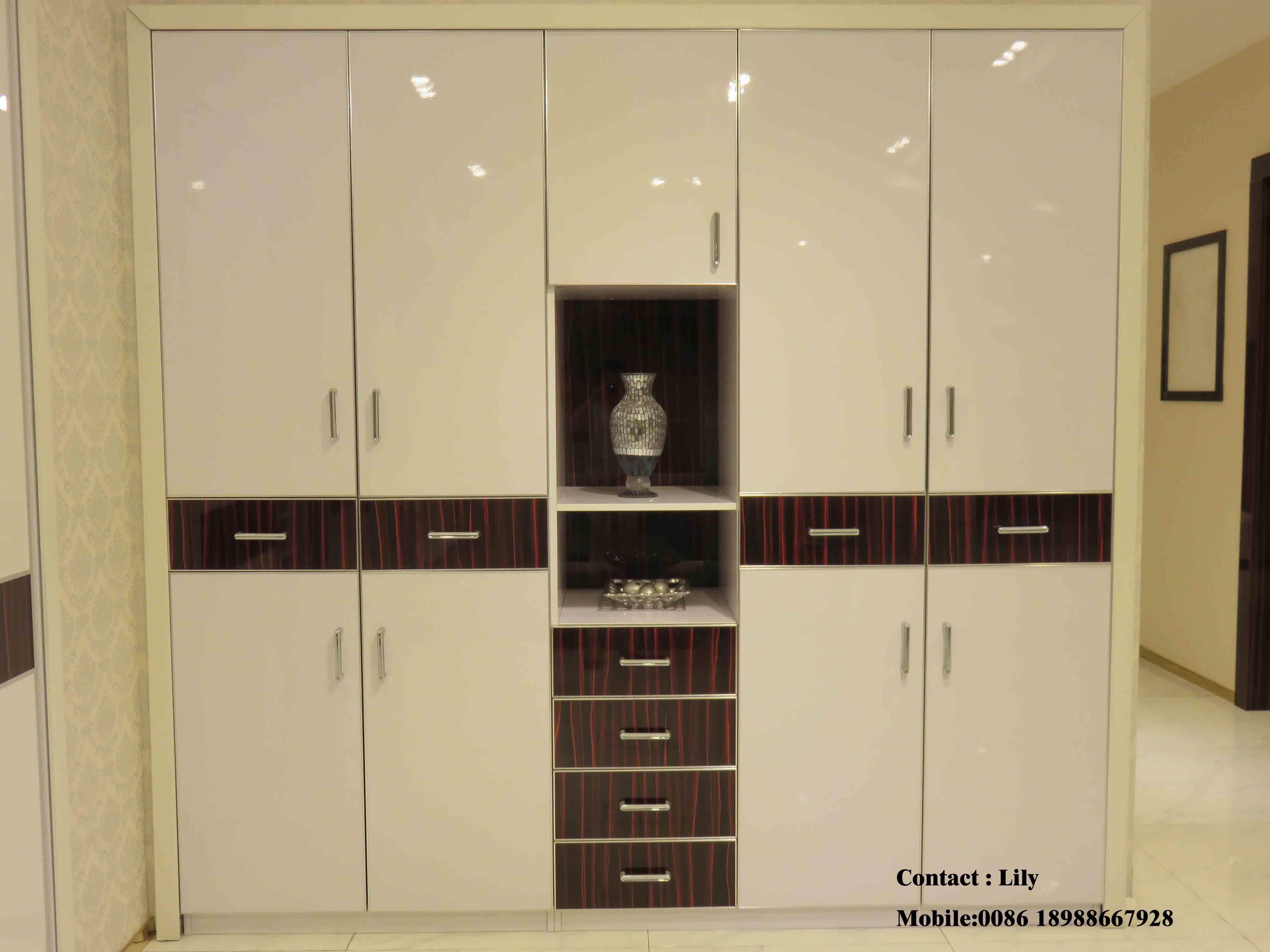 Wooden Sliding Doors for Wardrobe (ZH-5011)